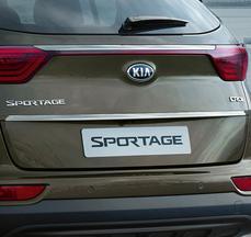 Накладка хромована на кришку багажника Sportage QL