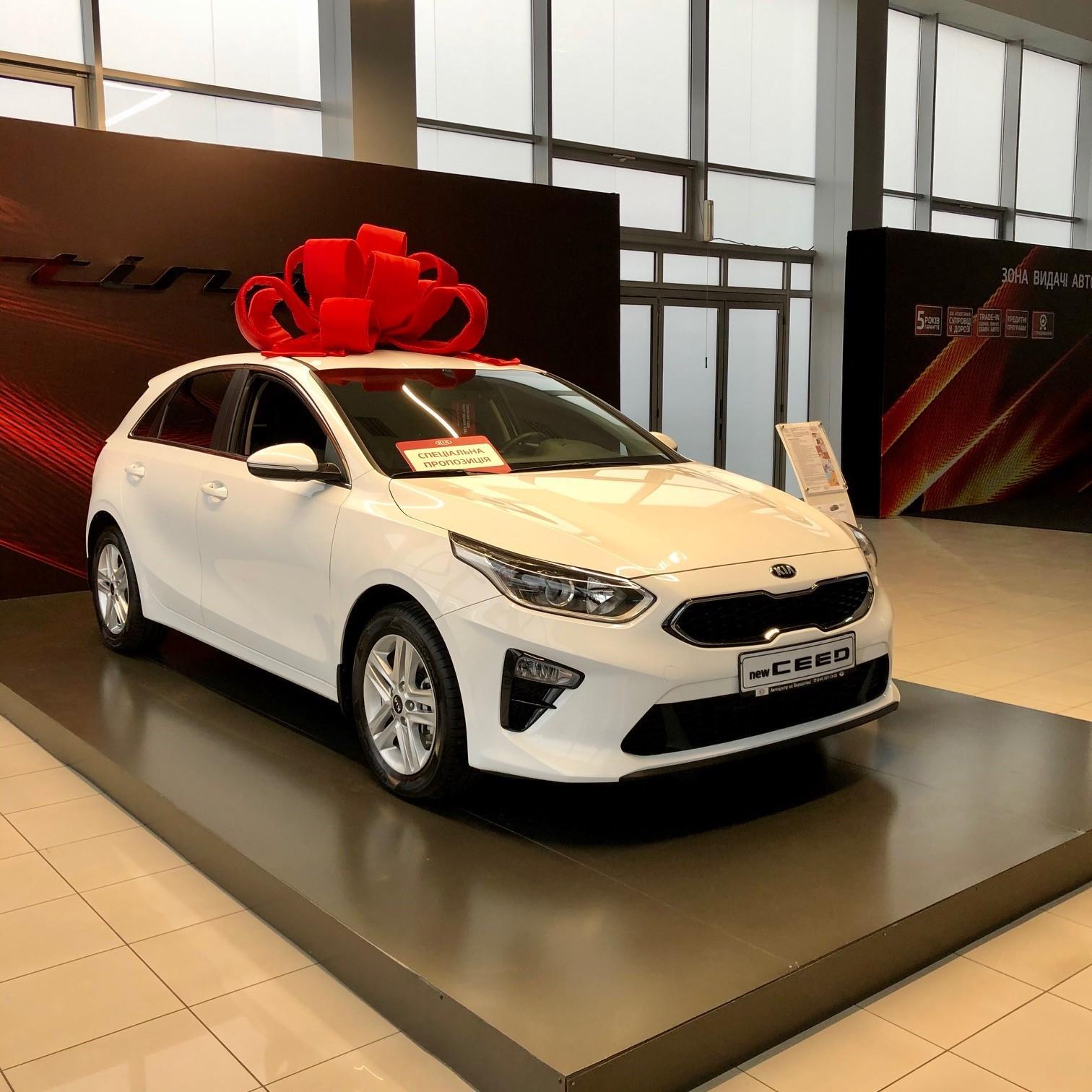 Спеціальна пропозиція на хетчбек Kia Ceed 2018 р.в.